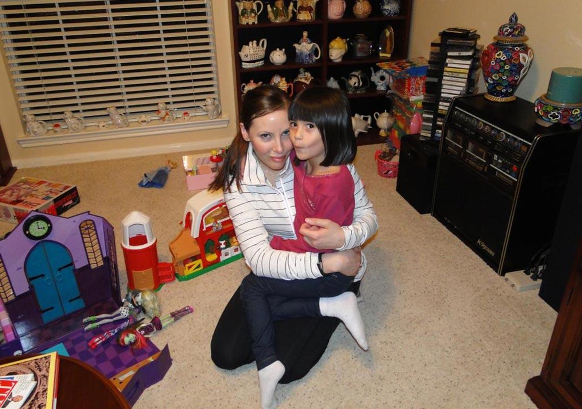 9 - Mi hija Angelica y mi nieta Amelie