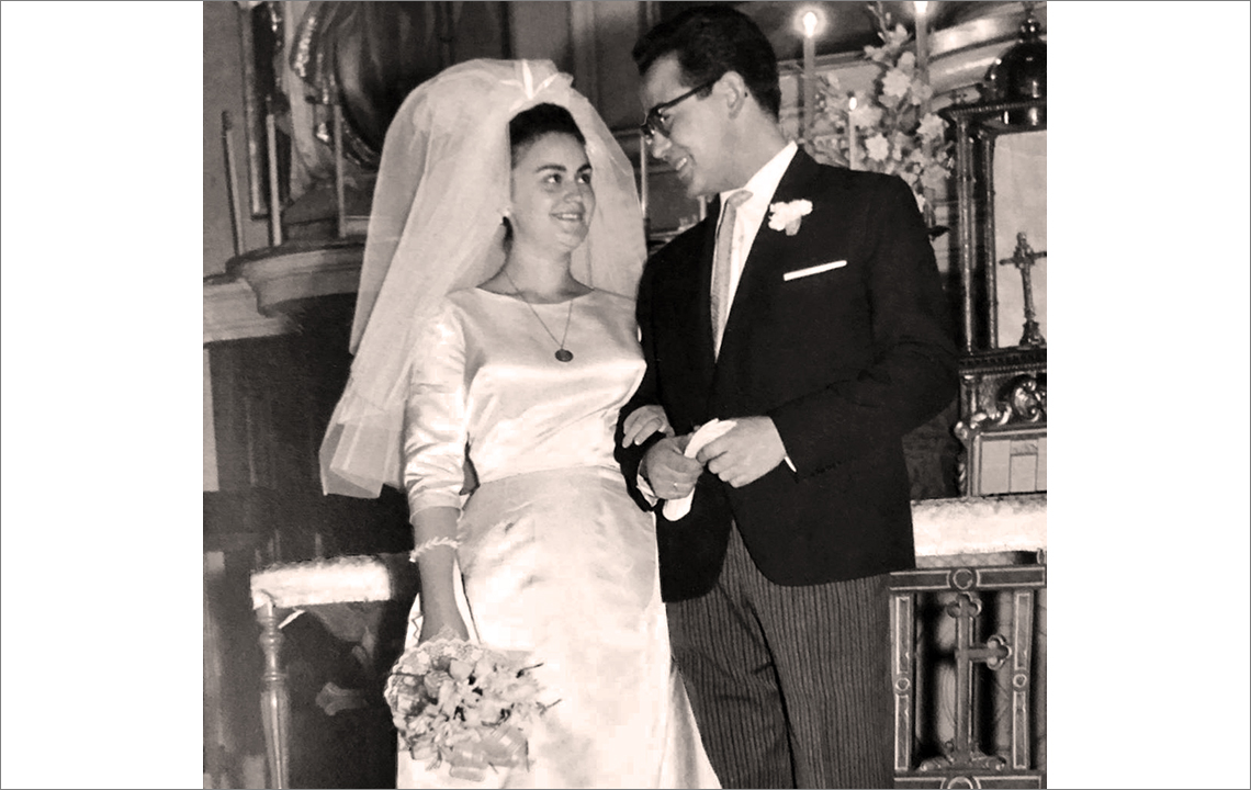Reme en su boda